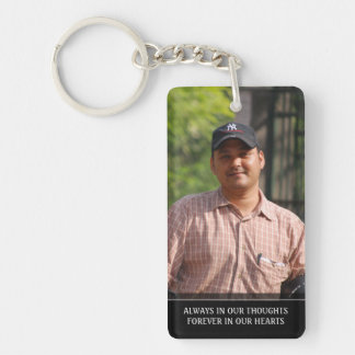 Memorial Keychain for Man - Small Boat
