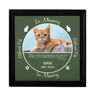 Memorial - Loss of Cat Gift Box