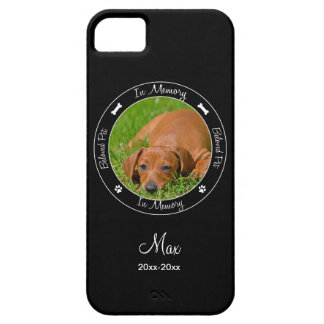 Memorial - Loss of Dog- Custom Photo/Name iPhone 5 Covers