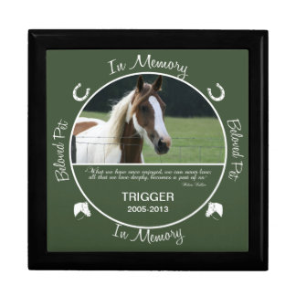 Memorial - Loss of Horse Gift Box