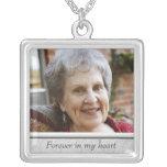 Memorial Photo Necklace