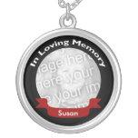 Memorial Photo Necklace Custom Jewelry