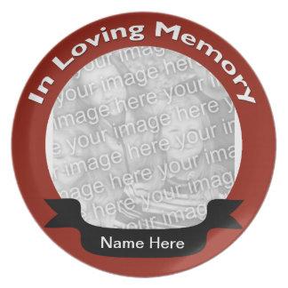 Memorial Photo  Plate