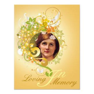 Memorial Picture Card/Invite - 11