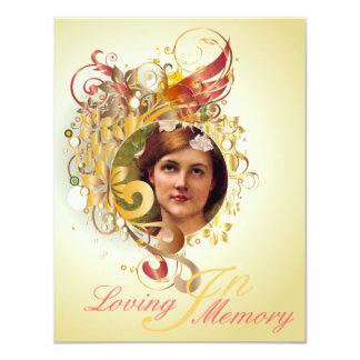 Memorial Picture Card/Invite - 12