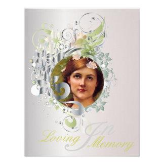Memorial Picture Card Invite - 13