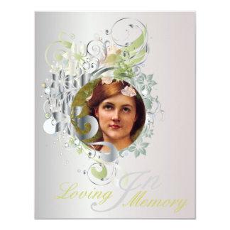 Memorial Picture Card/Invite - 13