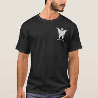 Memorial Ribbon and Angel Wings T-Shirt