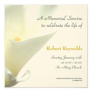 Memorial Service Announcement Cards & Invitations | Zazzle.com.au