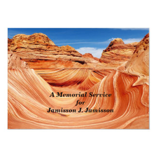 Memorial Service Invitation Photographers Paradise