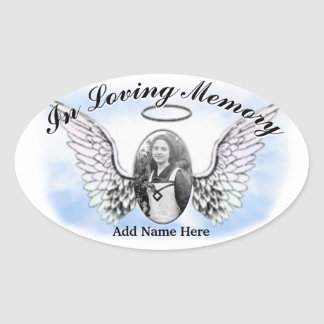 Memorial Sticker - Add Photo