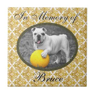 Memorial Tile for dog