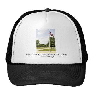 Memorial Veterans Day Tribute Trucker Hats