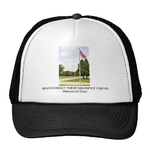 Memorial / Veterans Day Tribute Trucker Hats