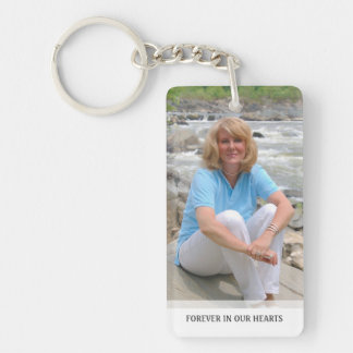 Memorial - White Back - Special Memories of You Acrylic Key Chain