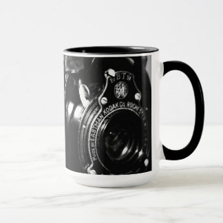 Memories a vintage Kodak folding camera Mug