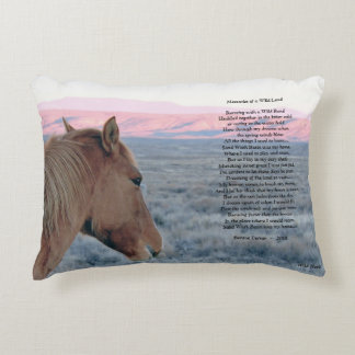 Memories of a Wild Land Decorative Cushion