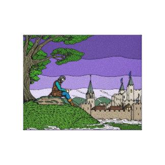 Memories of Camelot Canvas Print