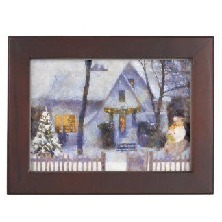Memories of Christmas Keepsake Box