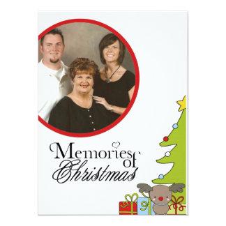 memories of christmas Photo Christmas Card 14 Cm X 19 Cm Invitation Card
