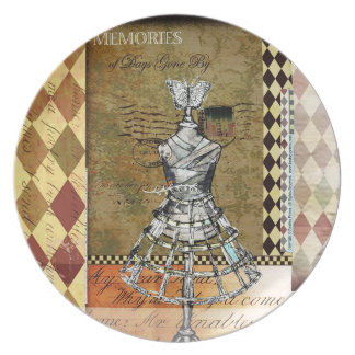 Memories of Days Gone By - Melamine Plate