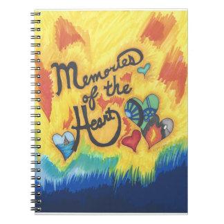 Memories of the Heart Notebook