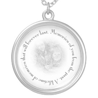 Memories of You Silver Plated Necklace