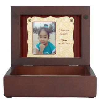 Memory Box for Mimi - Niece Photo