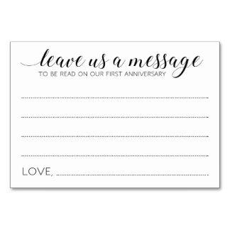 Memory Box Wedding Cards - Alejandra Table Card