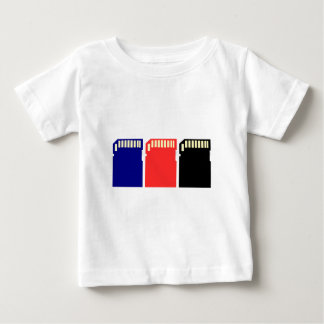 Memory Cards - SD memory card Baby T-Shirt