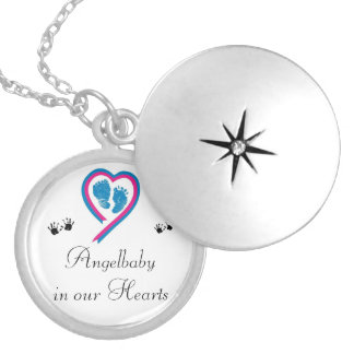 Memory chain locket necklace