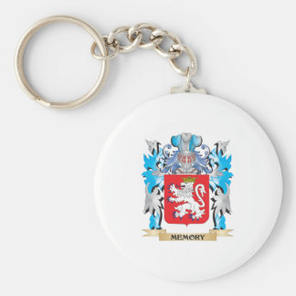 Memory Coat of Arms - Family Crest Key Chains