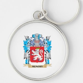Memory Coat of Arms - Family Crest Keychain