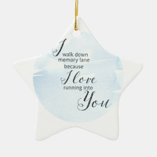 Memory Lane Ceramic Ornament