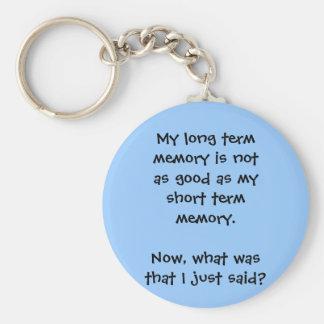 Memory Lapse Keychain