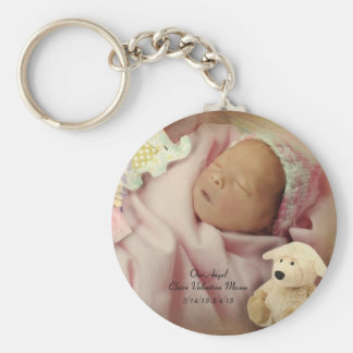 Memory of our Angel keychain