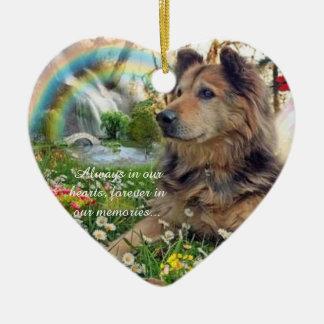 Memory Of Pet Ornament