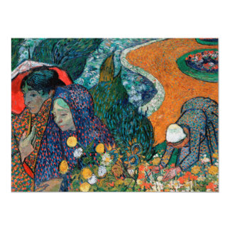 Memory of the Garden at Etten by Vincent van Gogh Card