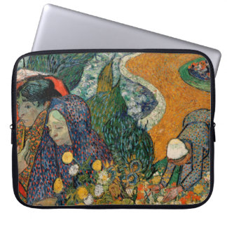 Memory of the Garden at Etten by Vincent Van Gogh Laptop Sleeve