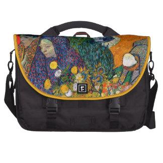 Memory of the Garden at Etten Vincent Van Gogh Laptop Commuter Bag