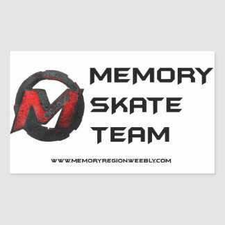 Memory Skate Team Sticker 1