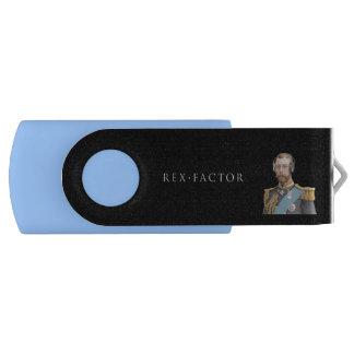 Memory Stick, Blue, George V USB Flash Drive
