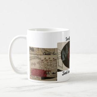 Memphis art christian cup basic white mug