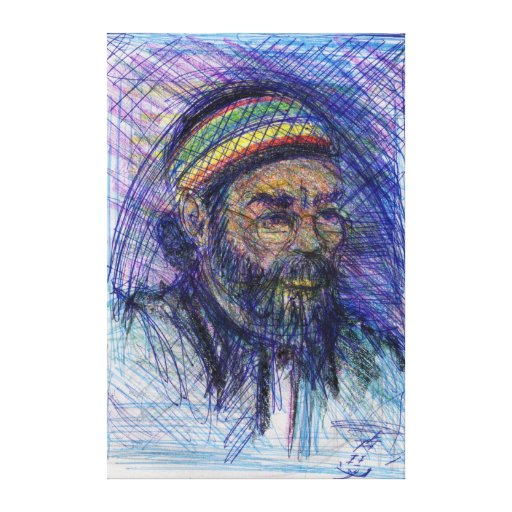 Memphis Artist Wrapped Canvas Stretched Canvas Prints