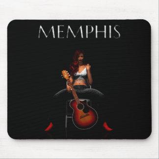 'MEMPHIS::Black Velvet' mousepad