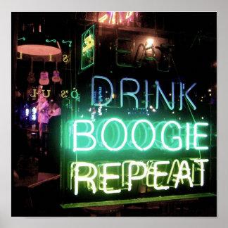 Memphis Boogie Poster