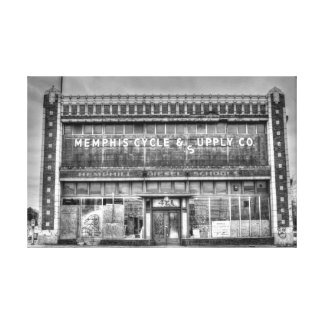 Memphis Cycle & Supply Gallery Wrap Canvas
