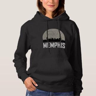 Memphis Full Moon Skyline Hoodie