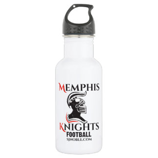 Memphis Knights Logo Water Bottle