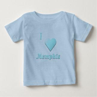 Memphis -- Light Blue Baby T-Shirt